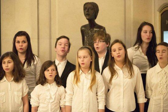 Four Seasons Hotel Prague: Prague Children's Choir