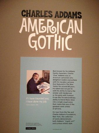 Australian Museum: Exhibition of Charles Addams' work