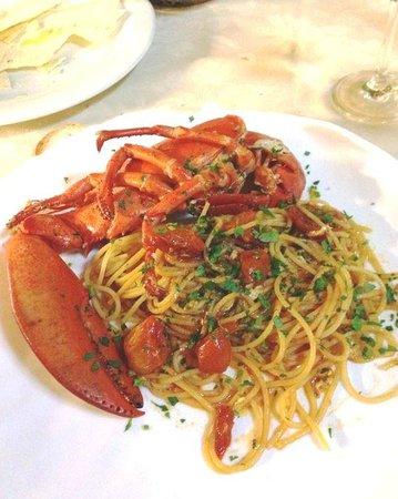 Canne al Vento : Spaghetti all'astice ...