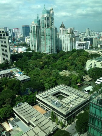Sivatel Bangkok : view from room