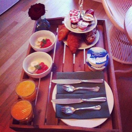 Le Quartier Sonang: Le petit déjeuner est délicieux