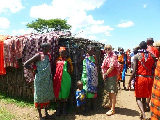 Sentrim Mara: Im Massaidorf