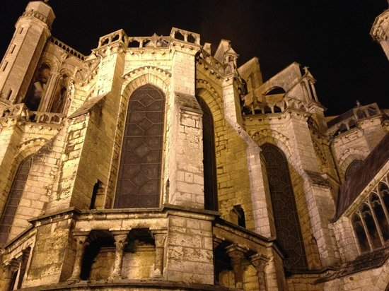 Cathédrale de Chartres : by night