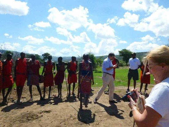 Sentrim Mara Camp: Bei den Masai