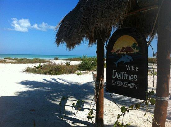 Hotel Villas Delfines: Ingången till hotellet