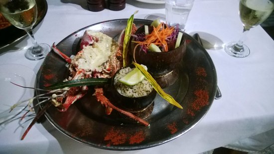 Aquana Beach Resort : Amazing food!!!