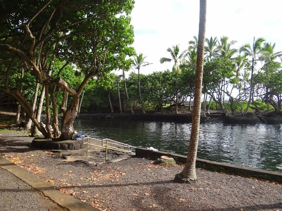 Ahalanui Park : the water