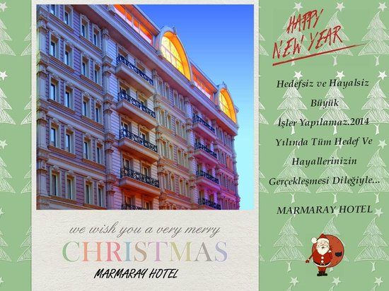 Marmaray Hotel : Happy New Year