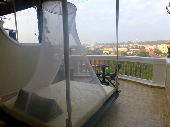 The Privilege Floor by BOREI ANGKOR: Room Balcony