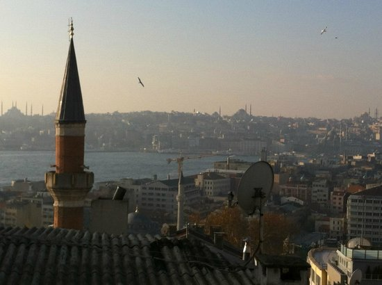 Witt Istanbul Suites: What a view!