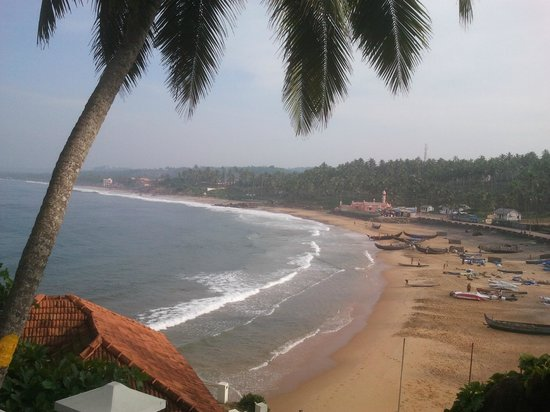The Leela Kovalam Beach: View from the room