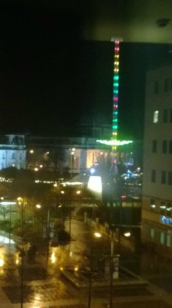 Hilton Cardiff: The view from our 3rd floor room