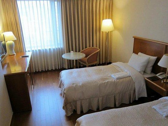 Sejong Hotel : スタンダードツインルーム