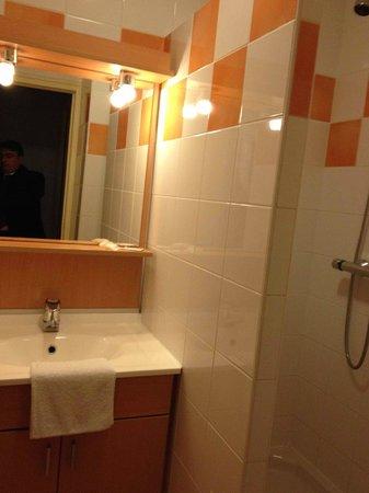 Inter Hotel de La Chaussairie : bagno