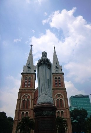 Saigon Notre Dame Cathedral: Notre Dame Cathedral, HCMC