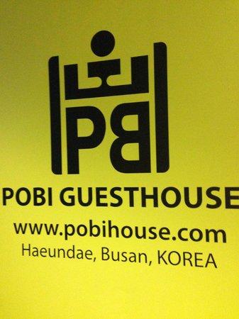 Pobi Guesthouse : logo