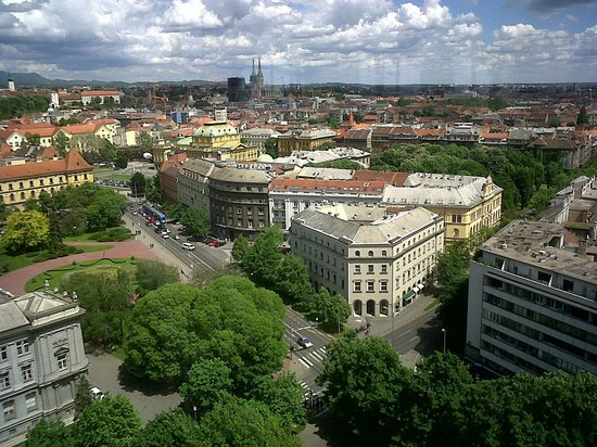 The Westin Zagreb: 17th floor view