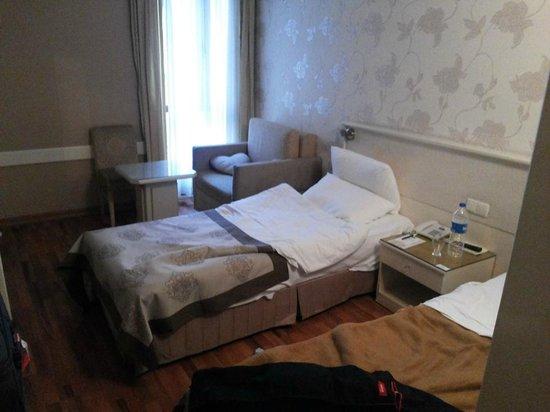 Antik Hotel Istanbul : Chambre double - 1er Étage