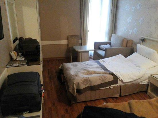 Antik Hotel Istanbul: Chambre double - 1er Étage