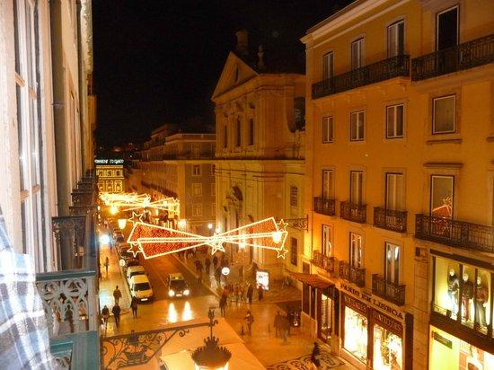 Hotel Borges Chiado: Aussicht vom Balkon