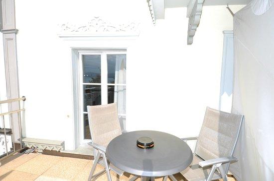 Hotel Ristorante Stella del Lago: Terrasse der Superior Doppelzimmer
