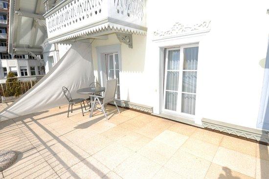 Hotel Ristorante Stella del Lago: Die Terrasse der Superior Doppelzimmer
