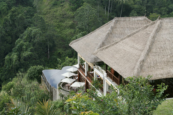 The Restaurant at Hanging Gardens Ubud: The Restaurant, Pool Bar and #worldsbestpool