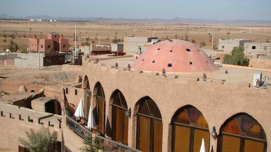 Kasbah Le Mirage: Boven op het dak