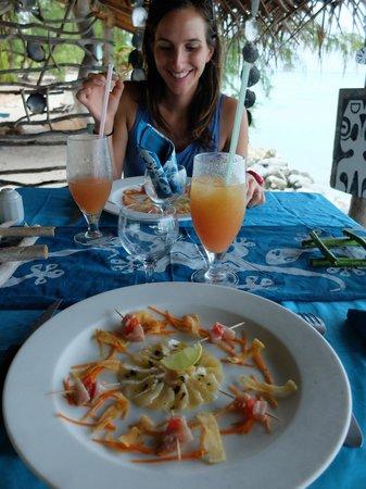 Snack Teanuanua: Une vraie dégustation digne d'un lieu étoilé