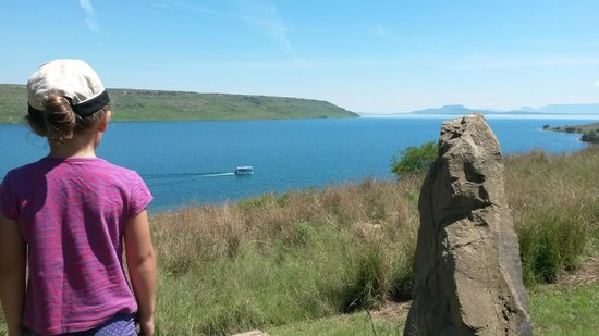 Qwantani Berg and Bush Resort : Sterkfontein dam, view from our porch