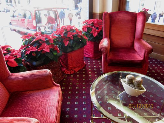 Lugano Dante Center Swiss Quality Hotel: Атмосфера Рождества