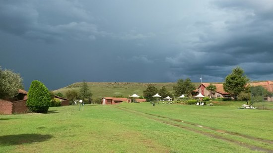 Qwantani Berg and Bush Resort : majestic weather