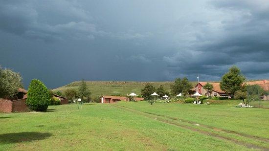 Qwantani Berg and Bush Resort: majestic weather