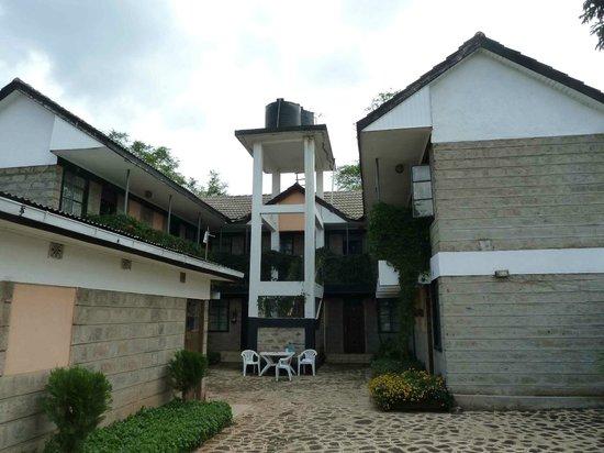 Hotel Troy Nairobi: Innenhof vom Hotel
