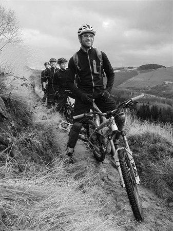 Coed Owen Bunkhouse: local riding