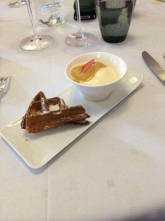 Hotel-Restaurant de la Poste : Dessert