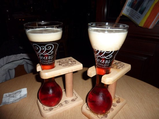 Royal Astor Hotel: Kwak beer, highly recommended !!!