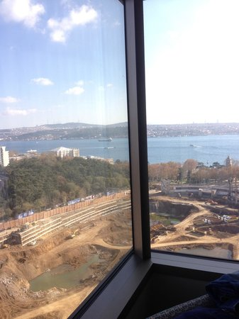 The Ritz-Carlton, Istanbul: View is beautiful, but the contraction Site !!