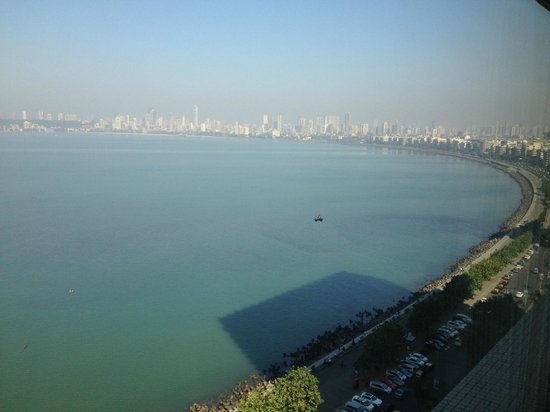 The Oberoi, Mumbai: Ocean view from our Suite
