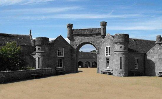 Culzean Castle: Court Yard
