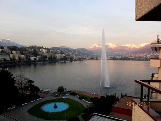 Grand Hotel Eden: Вид с балкона
