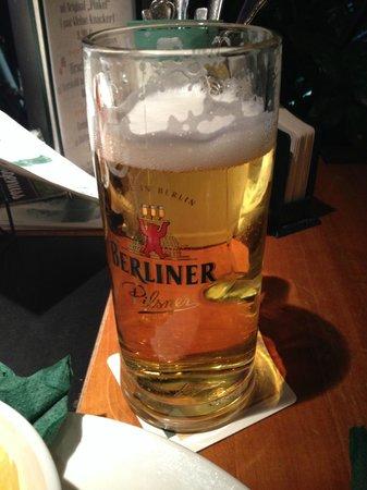 Lindenbrau Am Potsdamer Platz: Пиво