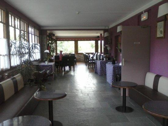 Hotel Liberty Mont Blanc: Vue de la salle à manger