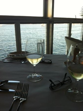 Rickys River Bar + Restaurant: View from our table
