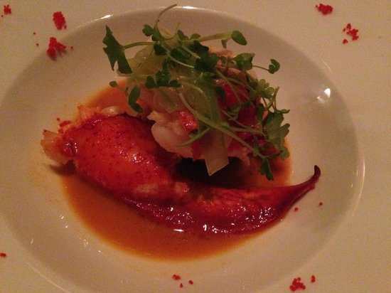 Jean Georges : Roasted main lobster