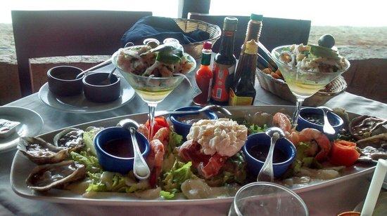 Mocambo Restaurantes: Fuente de mariscos.