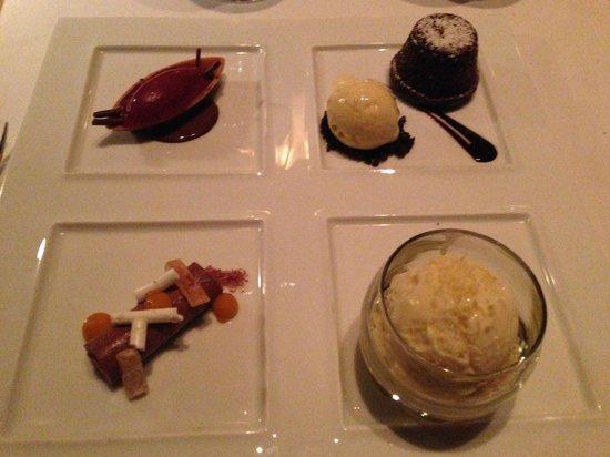Jean Georges: Choklad dessert tasting