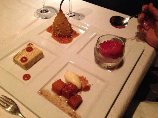 Jean Georges: December dessert tasting