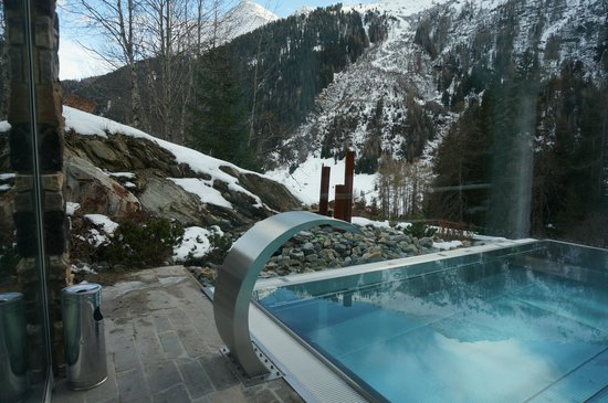 das MOOSER Hotel: View from the spa area