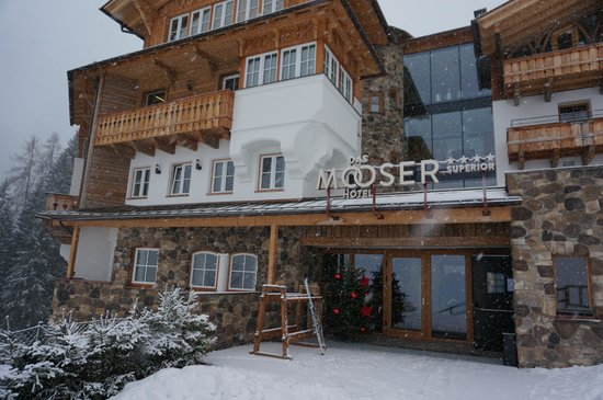 das MOOSER Hotel: outside of the hotel